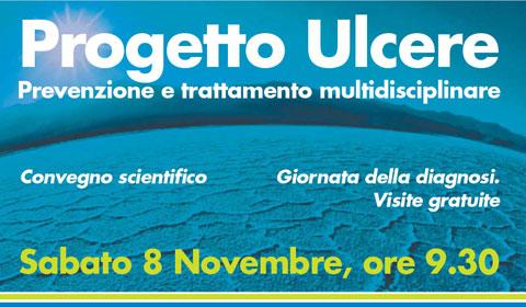 Progetto Ulcere: Sabato 8 novembre dalle 9,30. Convegno e giornata di visite gratuite
