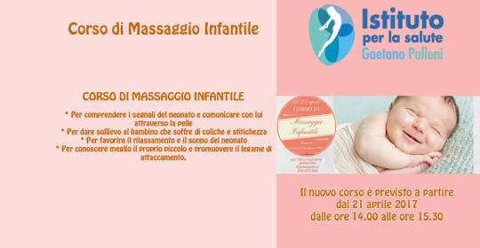 Nuovo corso di massagio infantile