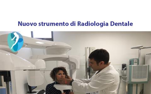 Nuovo strumento di Radiologia Dentale a basso dosaggio di radiazioni