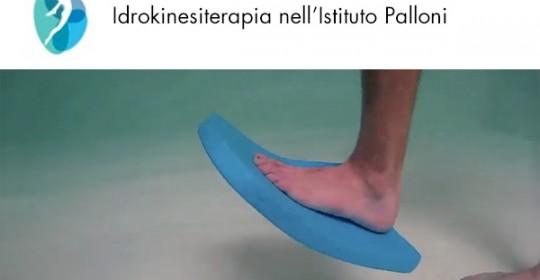 Idrokinesiterapia nella piscina riabilitativa dell'Istituto Palloni