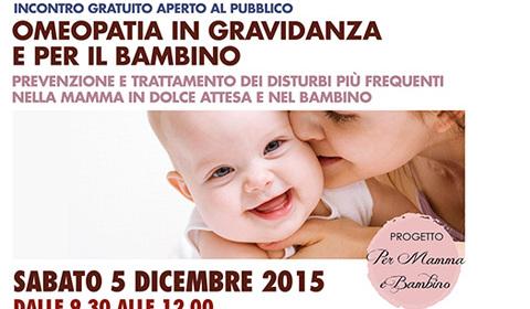 Omeopatia in gravidanza e per il bambino