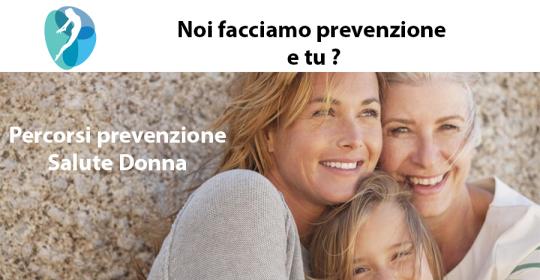 Percorsi prevenzione Salute Donna