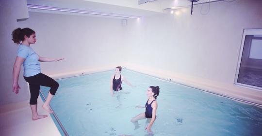 L'importanza della riabilitazione in acqua (idrokinesiterapia)