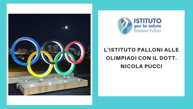 L'Istituto Palloni alle olimpiadi con il Dott. Nicola Pucci